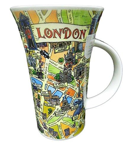 Dunoon Tasse avec poignée/Glencoe Tour du London Motif