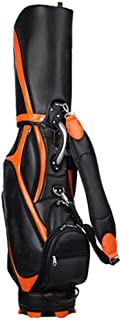 Golf Bag, 100% Waterproof, Lightweight and Portable, Multi-Color Optional happyL (Color : Orange)