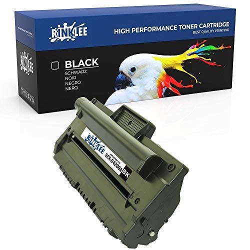 RINKLEE SCX-D4200A Cartuccia Toner Compatibile per Samsung SCX-4200 | Alta Capacità 3000 Pagine, Nero