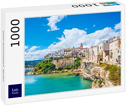 Lais Puzzle Vista panoramica di Vieste, Puglia 1000 Pezzi