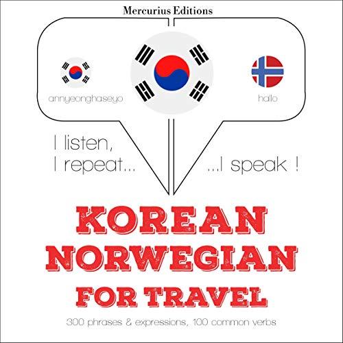 Korean – Norwegian. For travel cover art