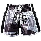 Pride or Die Pantalones cortos Muay Thai Reckless Urban Camo para hombre, Hombre, MTPoD009, multicolor, large