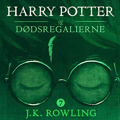 Harry Potter og Dødsregalierne audiobook cover art