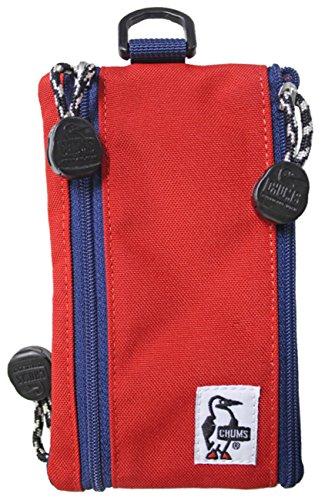 チャムス CHUMS CORDURA ECOMADE コーデュラエコメイド ECO KEY SMART PHONE CASE エコキースマートフォンケース ch60-2482 2.レッド