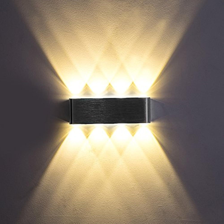 StiefelU LED Wandleuchte nach oben und unten Wandleuchten Wandleuchte Schlafzimmer Bedside LED Wandleuchte in Fluren, Treppen led Innen 6-6 W, wei