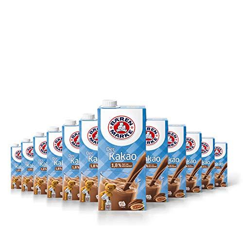 Bärenmarke Kakao, 1,8% Fett, 12er Pack