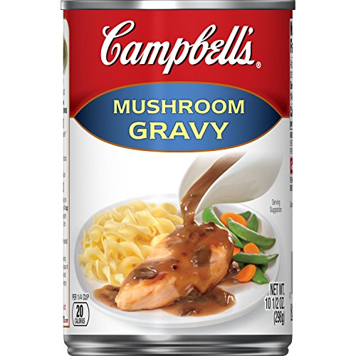 Campbell's Gravy, Mushroom, 10.5 oz. Can