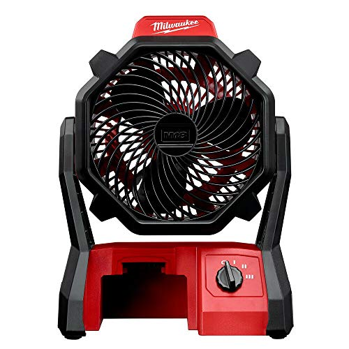 𝗠𝗶𝗹𝘄𝗮𝘂𝗸𝗲𝗲 M18 Portable Jobsite Fan w/AC Adapter (Tool Only) New