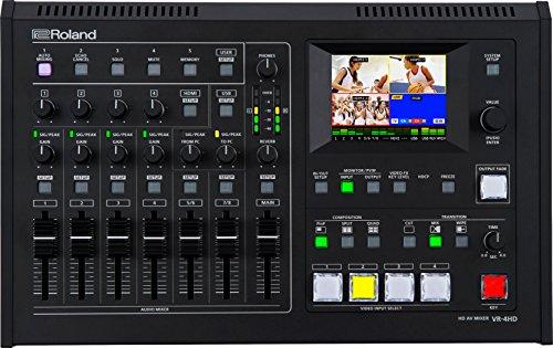 Roland VR-4HD 6 Input, 4-Kanal HD AV Mixer