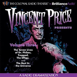 Vincent Price Presents - Volume Three audiobook cover art