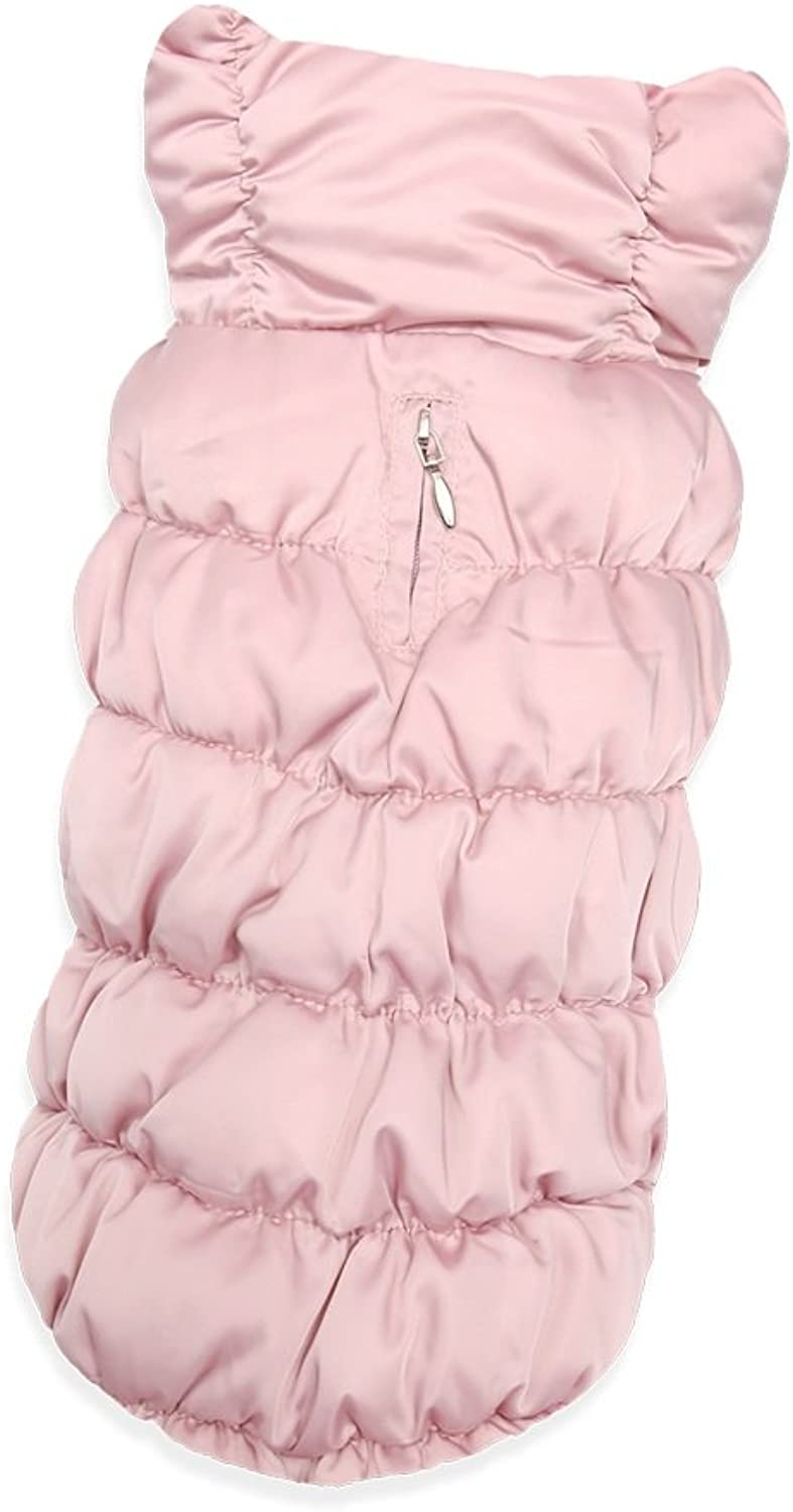 Puppy Angel Luxury FDJ Padded Vest, Extra Large, Pink