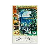 GHRF Cote D Azur Pablo Picasso Poster dekorative Malerei