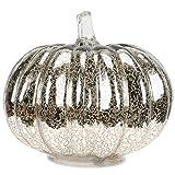 SOLUSTRE Glas Kürbis Licht für Halloween Kürbis Dekorationen Fallen Thanksgiving Leuchten Lampe...