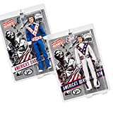 Figures Toy Company Evel Knievel 12 Inch Action Figures Series 1 Re-Issue: Set of 2 Figures
