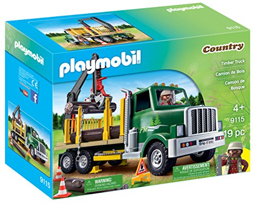Playmobil Timber Truck Building Kit