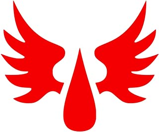 Warhammer 40k Blood Angels Chapter Badge Decal Sticker for Car Bumper Window Laptop Wall