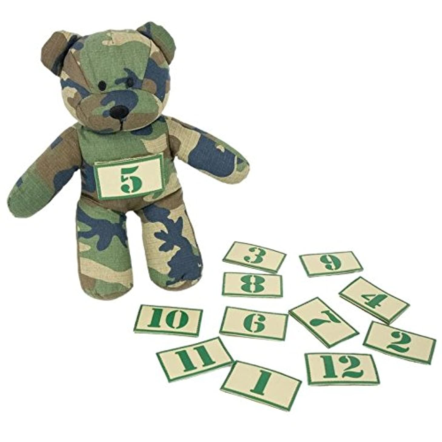 TBG Tactical Teddy and Number Patch Set