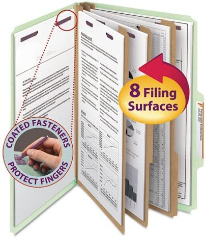 Pressboard Classification Folders Sale Super Special SALE held SALE% OFF Legal Gray Gr Eight-Section
