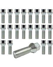 TRACER 20 Tornillos de Rueda Pernos de Rueda Cono Cintura 60 ° M12 x 1,5 28 mm apropiado BM