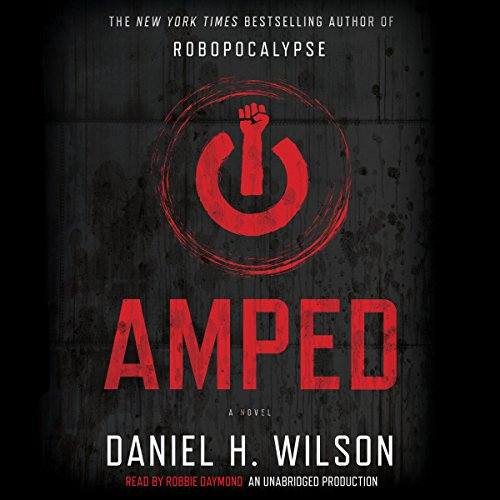 Amped audiobook cover art