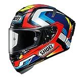 Shoei X-Spirit 3 Brink Cascos Integrales de Moto Motocicleta Bicicleta TC1 XS (53-54cm)
