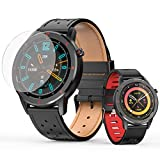 Smart Watch Fitness Tracker Watch for Heart Rate Fixdono, Sport Record and Sleep Record , with 1.3 Inch Full Touch Screen IP 68 Waterproof for Android and iOS Phones for Women, Men, Kids