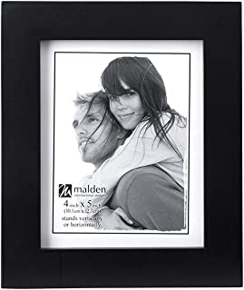 New Black with Gold Mount Photo Picture Frame Decor with Safety Glass