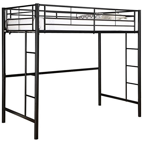 Sale Funiture Futon Bunk Loft Bed Frames For Kids Adults Boy Girl With Strong In Built Ladder Stairs Black Buy Online In United Arab Emirates At Desertcart Ae Productid 12532326