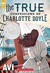 CHarlotte Doyle on ship book cover