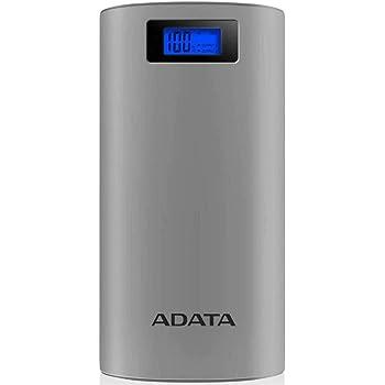 ADATA AP20000D-DGT-5V-CGY Power Bank 20000 mAh, Gris