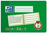 OXFORD 100050100 Schreibheft Schule 10er Pack A5 quer Lineatur 0 (1. Klasse) 16 Blatt - Schreiben lernen in der Grundschule und Förderschule