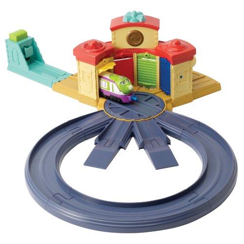 Chuggington - LC54204 - Véhicule Miniature et Circuit - Circuit Rotonde d'Aiguillage + Koko