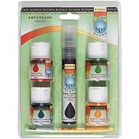 Artiste Aquaglass-Set de Pintura para Cristal
