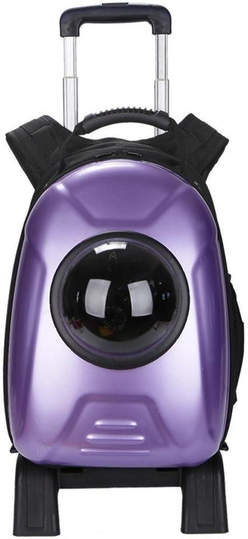 Daeou Pet Backpack Pet Bag Space Capsule cat Dog Lever Bag Detachable Backpack 30  52  27cm