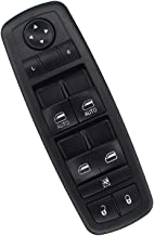 NewYall Front Left LH Driver Side Master Power Door Lock Window Switch w/ 2 Auto Buttons
