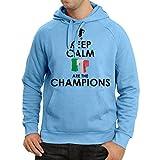 Sweatshirt à Capuche Manches Longues Les Italiens sont Les Champions, Le Championnat de Russie 2018, la Coupe du Monde de...