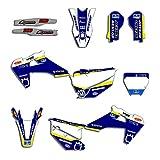 Pegatinas de Motocross 2019 2020 Equipo Gráficos Adhesivos Kit de Pegatinas for Husqvarna TC FC TX 125 250 350 450 Deco Accesorios de la Motocicleta