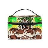 New-WWorld-Shop Kosmetiktasche Dragon Ball Super Broly Rage Tragbare Reise-Make-up-Tasche...