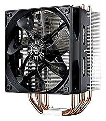 professional Cooler Master Hyper 212 Evo CPU Cooler, 4 CDC heat pipes, 120 mm PWM fan, AMD aluminum fins …
