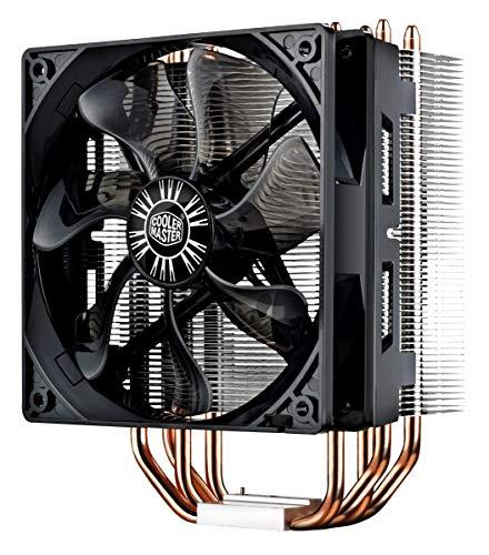 Cooler Master Hyper 212 Evo CPU Cooler, 120mm PWM Fan, Aluminum Fins, 4 Copper Direct Contact Heat Pipes for AMD Ryzen/Intel LG1151