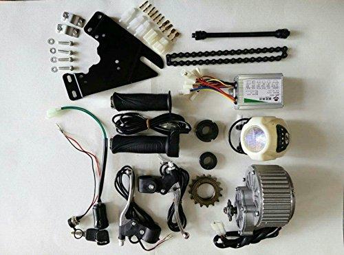 sarach store DC 24 V 450 W DIY 22 tum–28 elektriska motorer för cykel elcykelkit (elcykelkit