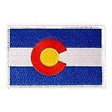 Colorado Flag Patch...image