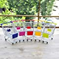 beiguoxia Funny Small Pet Toy Mini Lovely Cart Trolley Small Pet Bird Parrot Rabbit Hamster Cage Play Toy Pet Supplies by beiguoxia