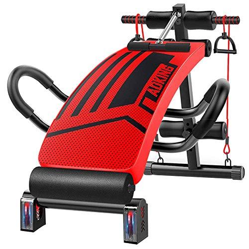 SXXYTCWL Multifunktionale Workout Bench Faltbare Hantelbank Verstellbare Gym zu Hause männlich Sit Up Bench Bauchmuskeln Padded Neigung und Verfall jianyou