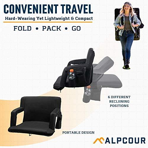 Alpcour Folding Stadium Seat