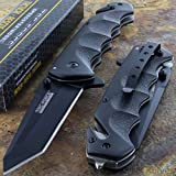 Best Tac Force Knives - MEselected Tac-Force Black Tanto Blade Spring Assisted Tactical Review