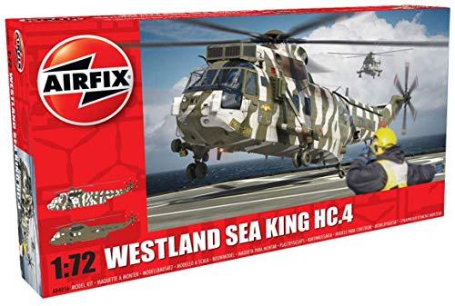 Airfix - Kit de modelismo, helicóptero Westland Sea King HC