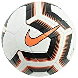 Nike NK Strk Team Ims Ballon de Football Blanc/Noir/Total Orange/Total FR : L (Taille Fabricant : 5)