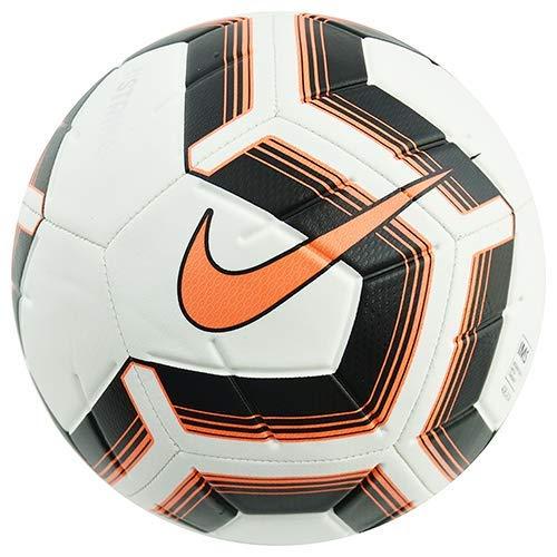 Nike Unisex– Erwachsene NK Strk Team IMS Fußballbälle, White/Black/total orange/total, 5