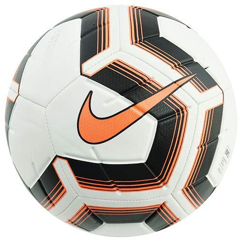 Nike NK Strk Team IMS, Pallone da Calcio Unisex Adulto, White/Black/Total Orange/Total, 5